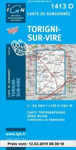Gebr. - Torigni-sur-Vire 1 : 25 000
