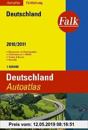 Gebr. - Falk Autoatlas Deutschland 2011/2012 1 : 500 000