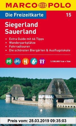 Gebr. - MARCO POLO Freizeitkarte Siegerland, Sauerland