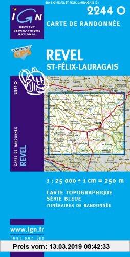 Gebr. - Revel / Saint-Felix-Lauragais 1 : 25 000