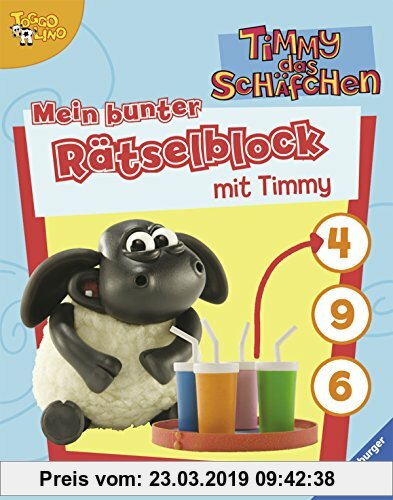 Gebr. - Mein bunter Rätselblock mit Timmy (Timmy das Schäfchen)