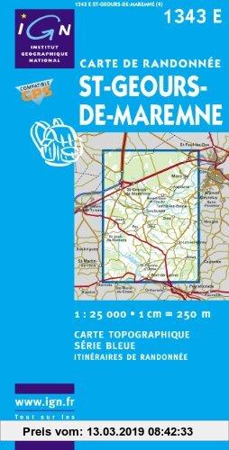 Gebr. - Saint-Geours-de-Maremne 1 : 25 000