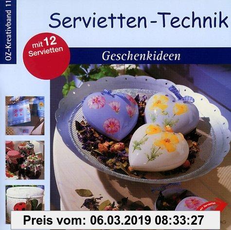Gebr. - Servietten-Technik, Geschenkideen, m. 12 Servietten