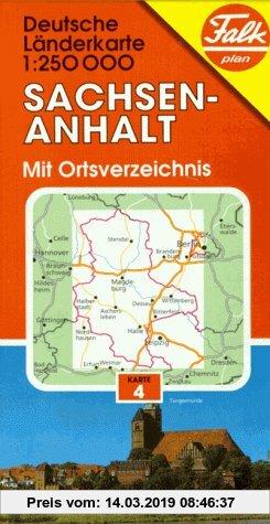 Gebr. - Falk Pläne, Sachsen-Anhalt (German Lander)