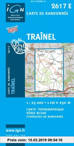 Gebr. - Trainel 1 : 25 000