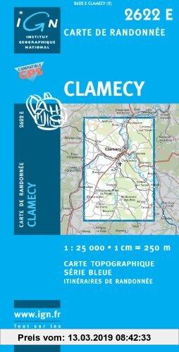 Gebr. - Clamecy Est 1 : 25 000