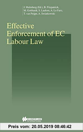 Gebr. - Effective Enforcement of EC Labour Law (Studies in Employment and Social Policy)
