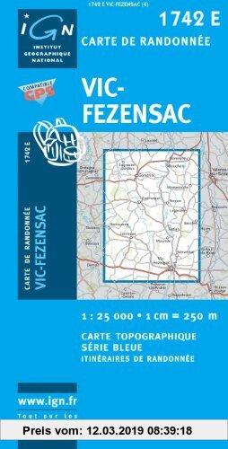 Gebr. - Vic-Fezensac 1 : 25 000
