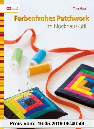 Gebr. - Farbenfrohes Patchwork im Blockhaus-Stil