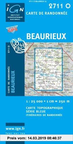 Gebr. - Beaurieux 1 : 25 000