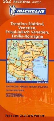 Gebr. - Trentino-Südtirol/Veneto (Michelin Regionalkarte)
