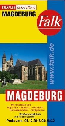 Gebr. - Falk Pläne, Magdeburg, Falkfaltung