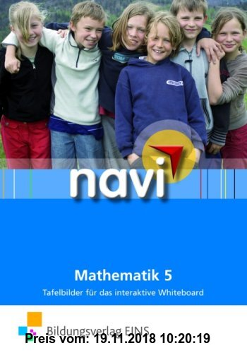 Gebr. - navi Mathematik: Tafelbilder 5 für das interaktive Whiteboard