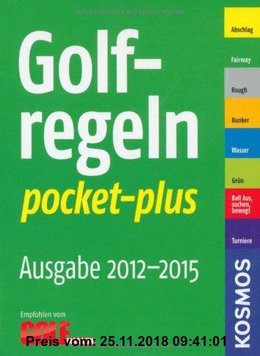 Gebr. - Golfregeln pocket-plus 2012-2015: Zählspiel