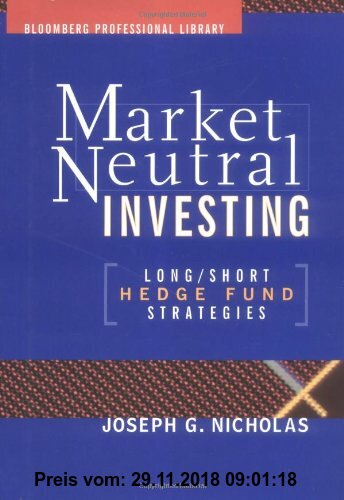 Gebr. - Market-Neutral Investing: Long/Short Hedge Fund Strategies (Bloomberg Professional Library)