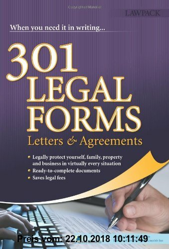 Gebr. - 301 Legal Forms, Letters and Agreements