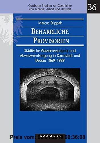 Gebr. - Beharrliche Provisorien: Städtische Wasserversorgung und Abwasserentsorgung in Darmstadt und Dessau 1869 - 1989 (Cottbuser Studien zur Geschic