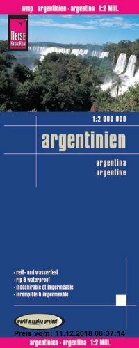 Gebr. - Reise Know-How Landkarte Argentinien (1:2.000.000): world mapping project