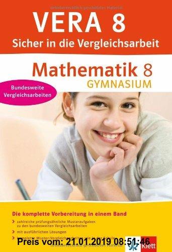 Gebr. - VERA 8 Mathematik 8 Gymnasium. Sicher in die Vergleichsarbeit