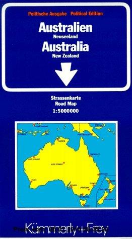 Gebr. - Kümmerly & Frey Karten, Australien, Neuseeland (International road maps)