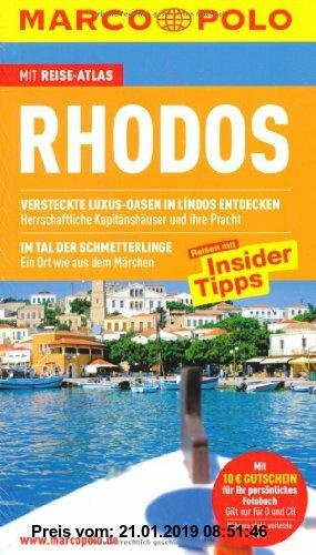 Gebr. - Rhodos: Reisen mit Insider-Tipps. Mit Sprachführer und Reiseatlas