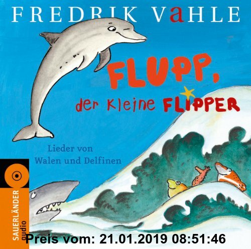 Gebr. - Flupp, der kleine Flipper (CD): Lieder von Walen und Delfinen