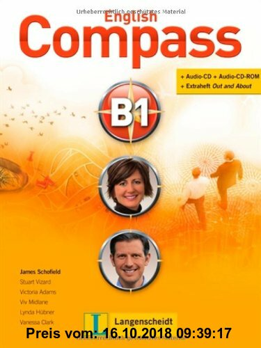 Gebr. - English Compass B1 - Student's Book mit 2 Audio-CD/CD-ROMs