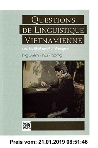 Gebr. - Questions de linguistique vietnamienne : Les classificateurs et les déictiques