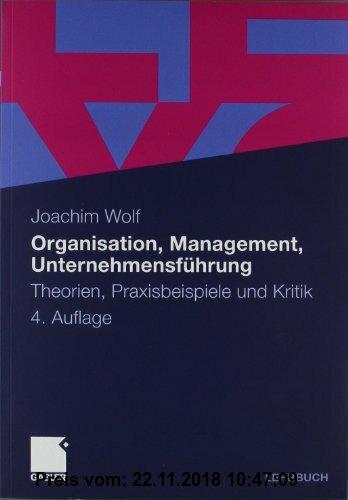 Gebr. - Organisation, Management, Unternehmensführung: Theorien, Praxisbeispiele und Kritik
