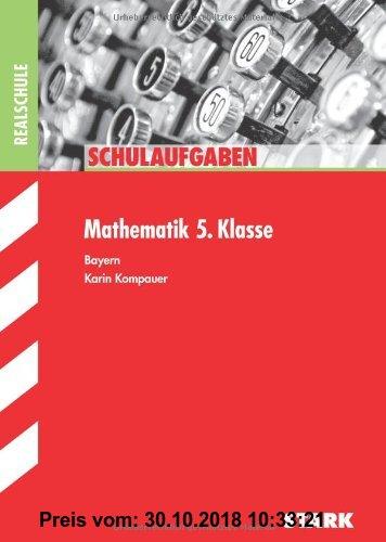 Gebr. - Schulaufgaben Realschule Bayern / Mathematik 5. Klasse