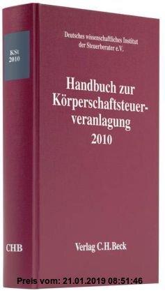Gebr. - Handbuch zur Körperschaftsteuerveranlagung 2010
