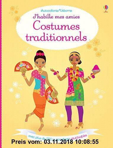 Gebr. - Costumes traditionnels : Avec plus de 250 autocollants réutilisables
