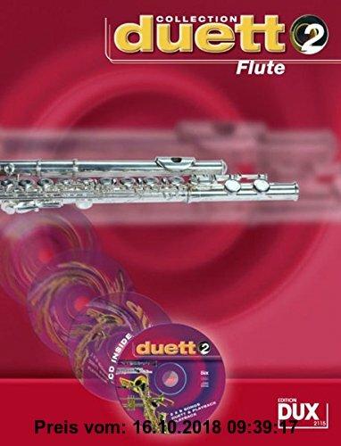 Gebr. - Duett Collection, Flute, m. Audio-CD