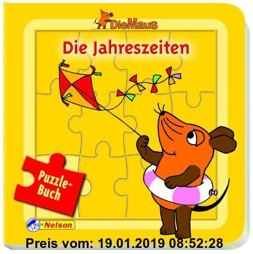 Gebr. - Die Maus, Die Jahreszeiten Puzzlebuch