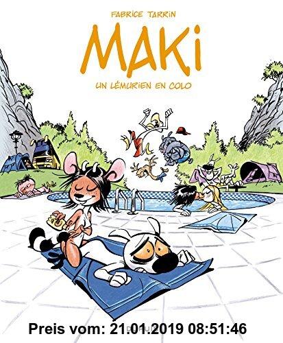 Gebr. - Maki, Tome 1 : Un lémurien en colo