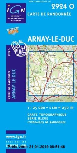 Gebr. - Arnay-le-Duc 1 : 25 000