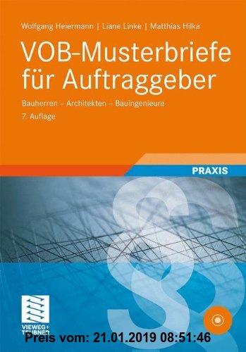 Gebr. - VOB-Musterbriefe für Auftraggeber: Bauherren - Architekten - Bauingenieure