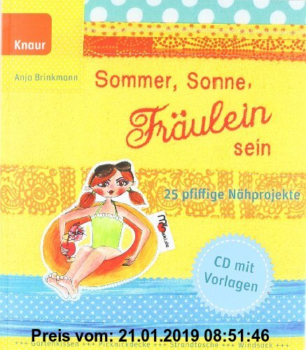 Gebr. - Sommer, Sonne, Fräulein sein: 25 pfiffige Nähprojekte