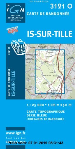 Gebr. - Is-sur-Tille 1 : 25 000: IGN3121O