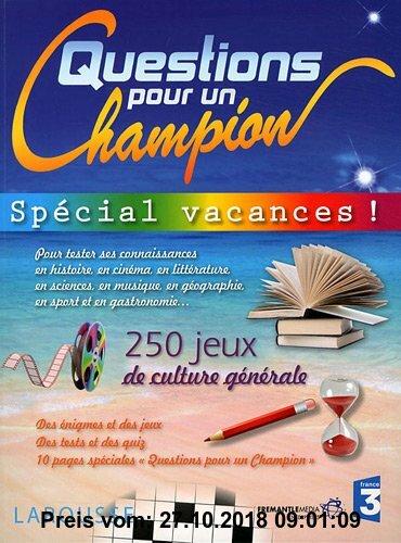 Gebr. - Questions pour un champion : Spécial vacances !