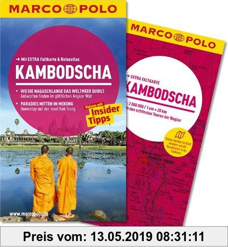 Gebr. - MARCO POLO Reiseführer Kambodscha: Reisen mit Insider-Tipps. Mit EXTRA Faltkarte & Reiseatlas