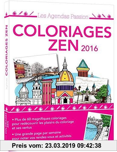 Gebr. - Agenda passion Coloriages zen 2016