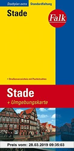 Gebr. - Falk Stadtplan Extra Standardfaltung Stade