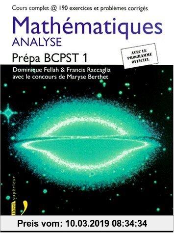Gebr. - Mathématiques, Prépa BCPST 1 : Analyse (Maths)