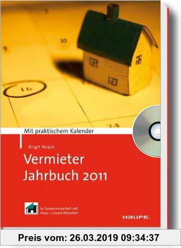 Gebr. - Vermieter-Jahrbuch 2011: Mit praktischem Kalender