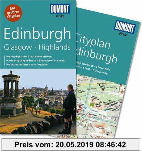 Gebr. - DuMont direkt Reiseführer Edinburgh, Glasgow, Highlands
