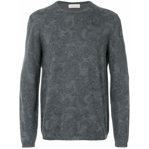 Etro sweat imprimé - Gris