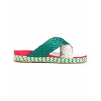 Mr & Mrs Italy sandales à brides croisées - Multicolore