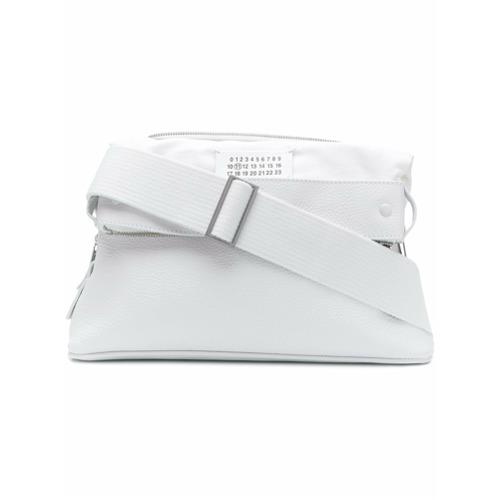 Maison Margiela pochette à bride portée poignet - Blanc