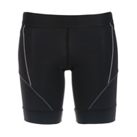 Track & Field side pockets running shorts - Noir